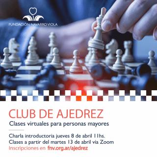 ¡Sumate a los talleres de ajedrez!